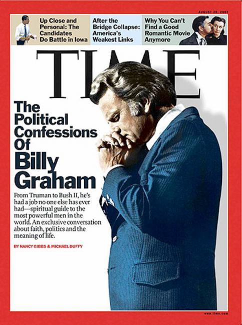 Coverjunkie | Devil Horns on Billy Graham - Coverjunkie