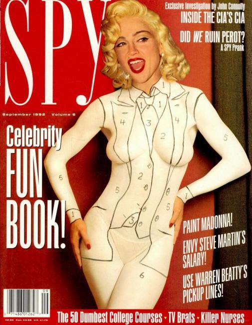 Coverjunkie | Madonna's Spy - Coverjunkie